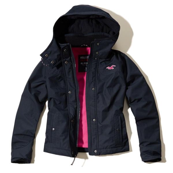 Hollister Wetterfeste Jacke