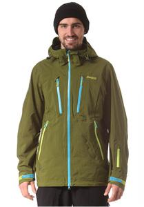 Bergans Trolltind - Snowboardjacke für Herren - Grün