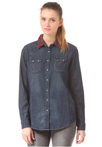 LEE Regular Western - Hemd für Damen - Blau