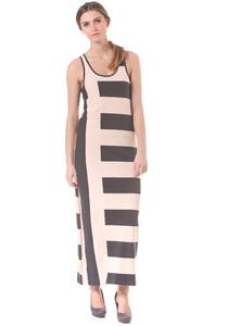 Selected Femme Amaze Maxi - Kleid für Damen - Streifen