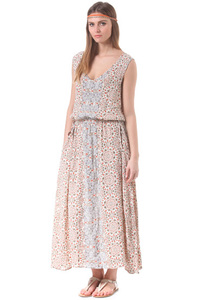 Selected Femme Odelia Maxi - Kleid für Damen - Grau