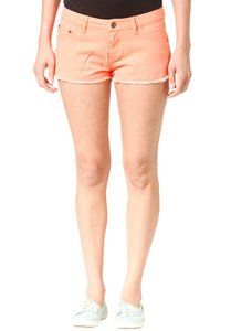 Ocean & Earth Raver - Shorts für Damen - Orange