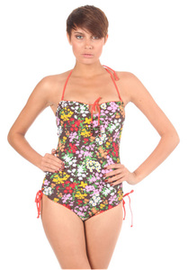 Ocean & Earth Sun Kiss Bathing Suit - Bikini Set für Damen - Braun