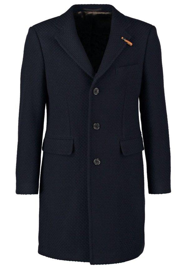 baldessarini paris wollmantel klassischer mantel navy von zalando ansehen. Black Bedroom Furniture Sets. Home Design Ideas