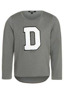DKNY Langarmshirt mittelgrau