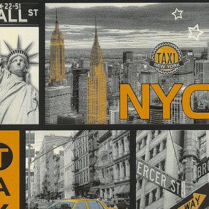 A.S. Creation Vinyltapete - New York - 10 Meter