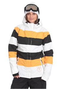 Light Flag - Snowboardjacke für Damen - Gelb