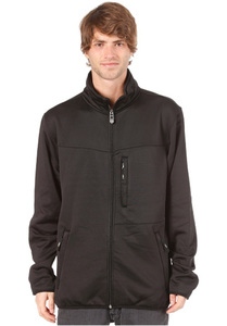 Light Full Fleece Jacket 2013 - Sweatjacke für Herren - Schwarz