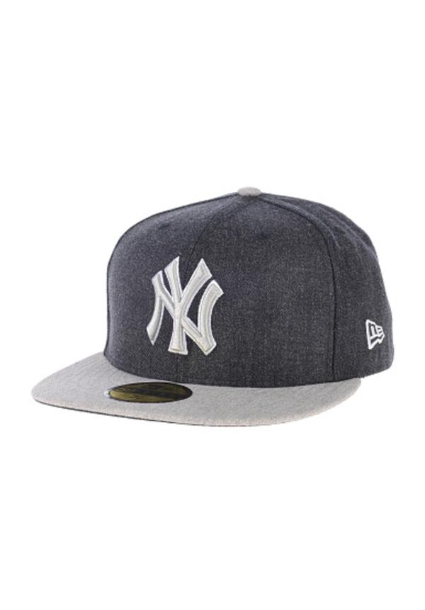 be62c78e35b NEW ERA Heather Blende NY Yankees - Fitted Cap für Herren - Blau. Planet  Sports