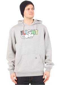 Light Log Hooded Sweat 2013 - Kapuzenpullover für Herren - Grau