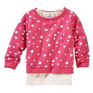 Mädchen-Sweatshirt und Top