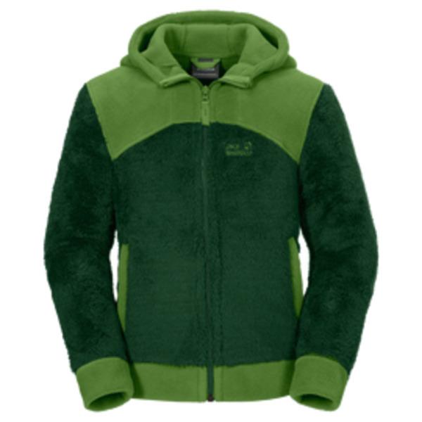 jack wolfskin fleecejacke jungen polar bear nanuk jacket boys 176 beech green von jack wolfskin. Black Bedroom Furniture Sets. Home Design Ideas