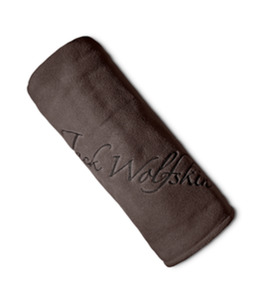 Jack Wolfskin Fleecedecke Logo Blanket one size braun
