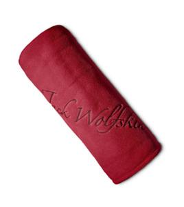Jack Wolfskin Fleecedecke Logo Blanket one size red