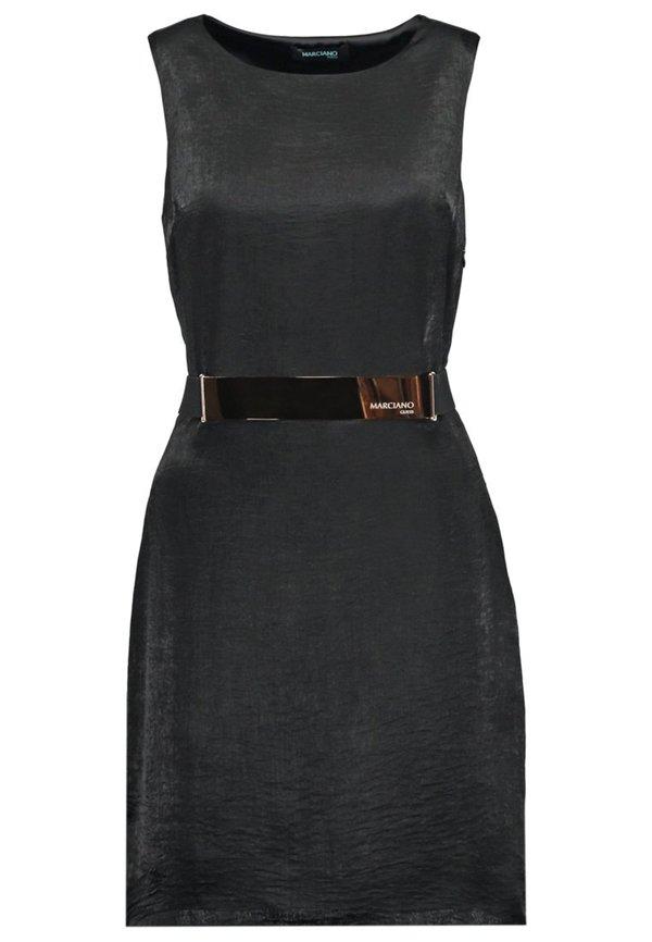 marciano guess cocktailkleid festliches kleid black von. Black Bedroom Furniture Sets. Home Design Ideas