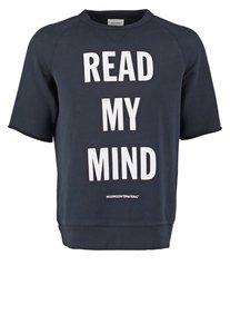Wood Wood ALAN Sweatshirt read mind blue