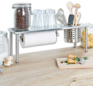 HOME IDEAS Edelstahl-Küchenregal