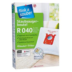flink & sauber              Staubsaugerbeutel R 040