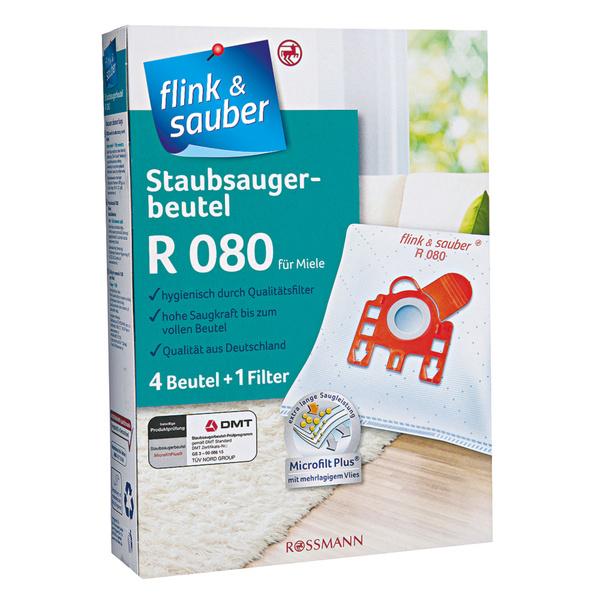 flink & sauber              Staubsaugerbeutel R 080