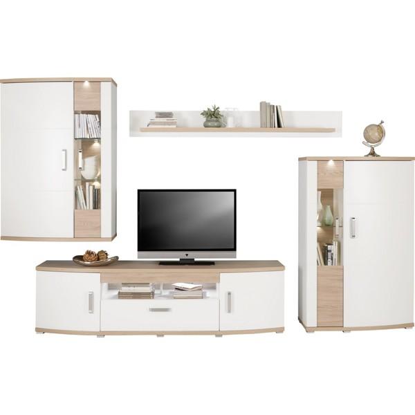 xora wohnwand braun von xxxlutz ansehen. Black Bedroom Furniture Sets. Home Design Ideas