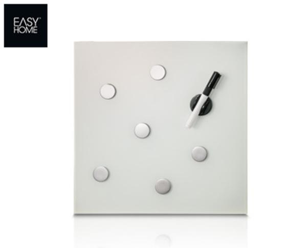 easy home magnettafel aus glas von aldi s d ansehen. Black Bedroom Furniture Sets. Home Design Ideas