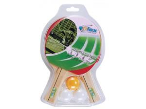 Tischtennis 2 Schläger-Set Advanced