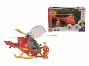 Feuerwehrmann Sam Helikopter mit Figur