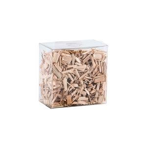 Holzgranulat in Box, Fichte, natur, ca. 600 ml