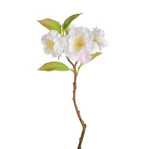 Zweig Kirschblüte, weiß, ca L:27 cm