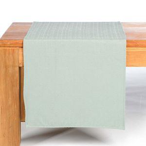 Tischläufer, mintgrün, ca B:40 x L:150 cm, 100% Polyester