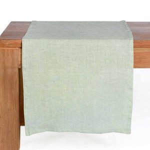 Tischläufer Leinen, mintgrün, ca B:40 x L:150 cm, 100% Leinen