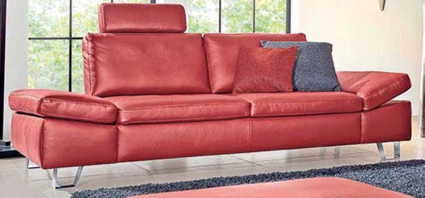 longlife funktionsgarnitur echtes leder von porta m bel ansehen. Black Bedroom Furniture Sets. Home Design Ideas