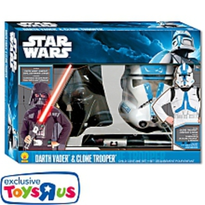 Rubies - Star Wars Darth Vader & Clone Trooper Kostümset, One Size