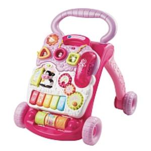 VTech - Spiel- und Laufwagen pink
