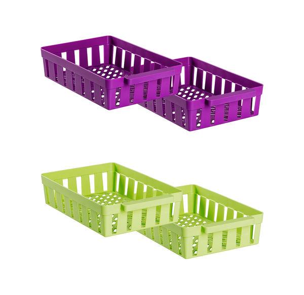 KühlschrankKorb, 2er Pack, ca 8x23x34cm von NKD ansehen! -> Kühlschrank Angebot