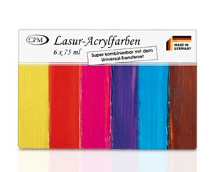 Lasur-Acrylfarben