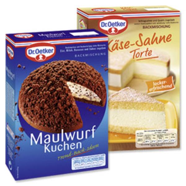 Dr Oetker Kase Sahne Torte Oder Maulwurf Kuchen Von Real Ansehen