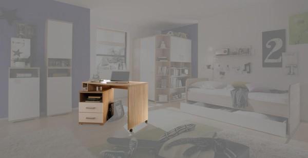 Schreibtisch corner von poco einrichtungsmarkt ansehen for Poco rollcontainer