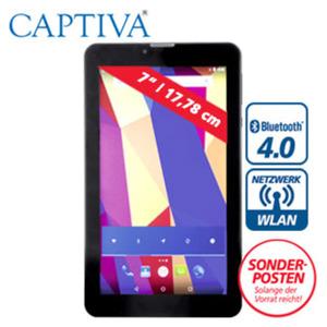 Multimedia-Tablet-PC Pad 7 3G Kommunikator mit Cortex A7 Quad-Core-Prozessor