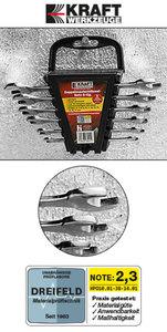 Kraft Werkzeuge Doppel-Maulschlüsselsatz 6teilig