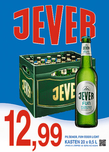 Jever Pilsener, Fun oder Light