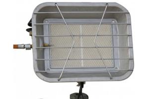 Tepro Gas-Heizstrahler 4600 Watt inkl. Druckminderer und Gasschlauch