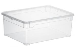 Rotho Aufbewahrungsbox Clear  10 l, transparent