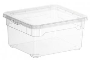 Rotho Aufbewahrungsbox Clear  2 l, transparent