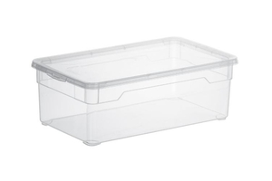 Rotho Aufbewahrungsbox Clear  5 l, transparent