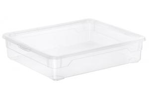 Rotho Aufbewahrungsbox Clear 9 l, transparent