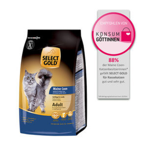 SELECT GOLD Maine Coon Geflügel & Lachs