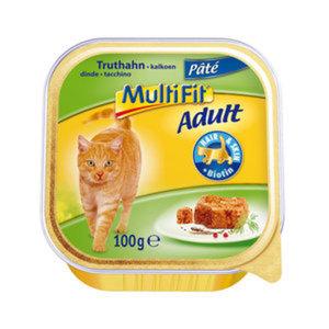 MultiFit Schale Adult Paté 16x100g