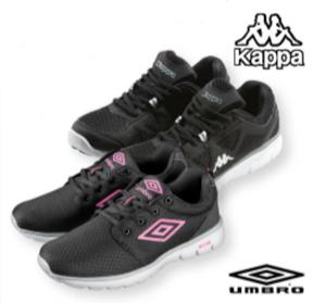 """Umbro"" Damen und ""Kappa"" Herren Sportschuhe"