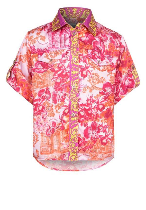 young versace bluse pink multicolor von zalando ansehen. Black Bedroom Furniture Sets. Home Design Ideas